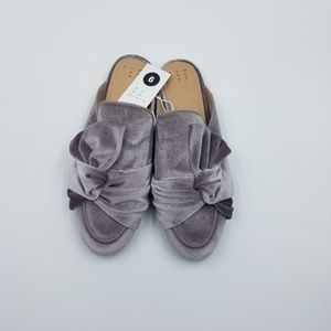 A New Day Holland Knotted Velvet Mules